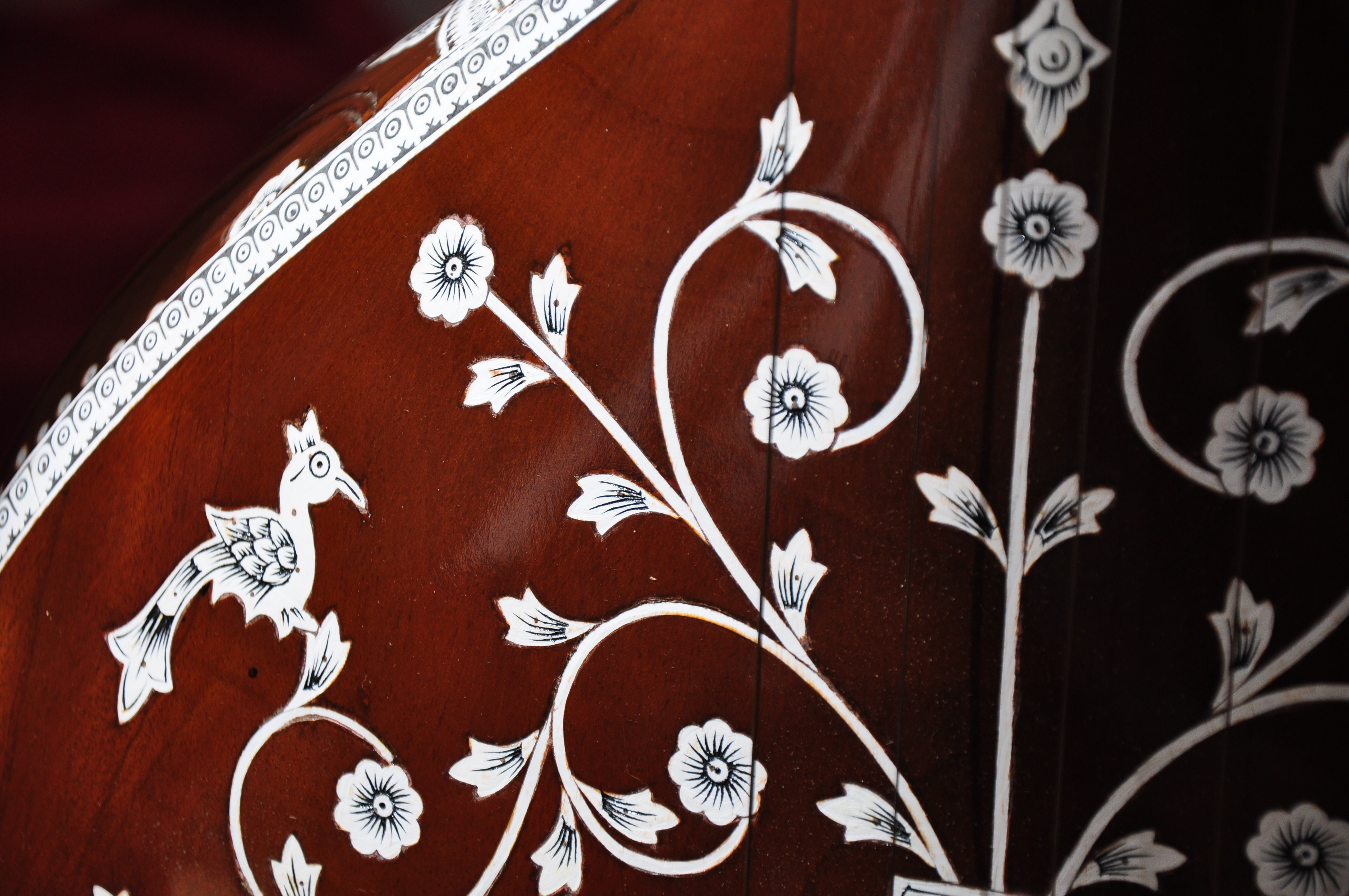 tanpura traditionele decoratie