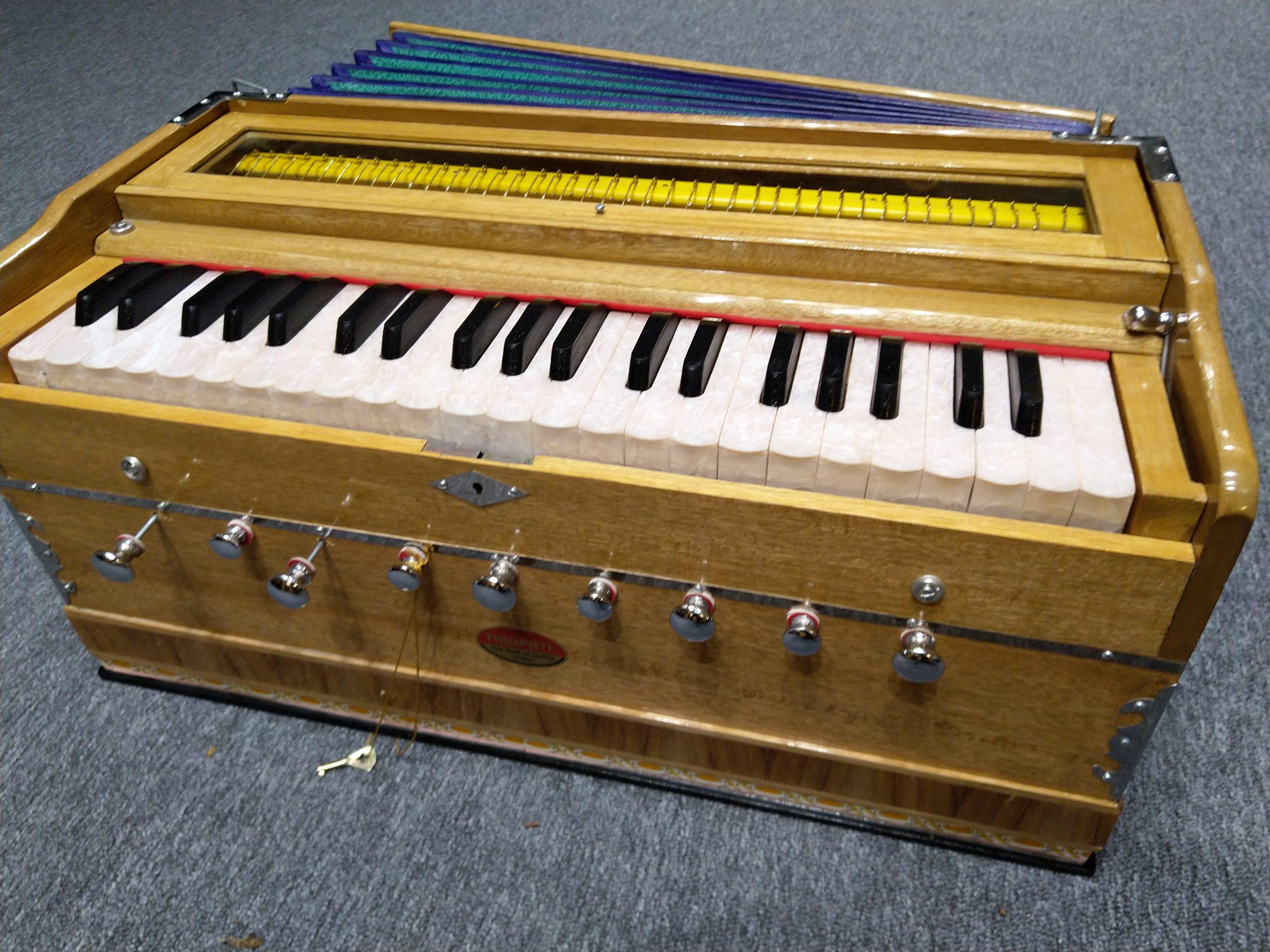Tirupati Sangeet standaard harmonium