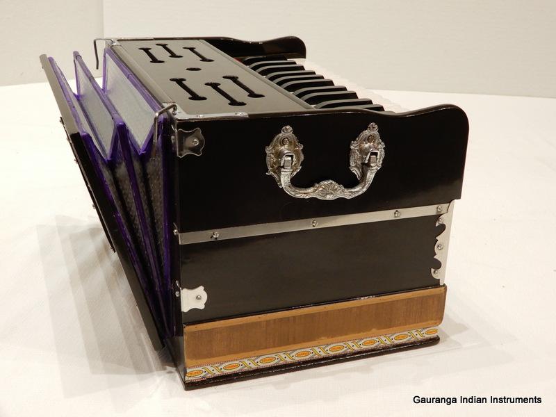 mini harmonium double fold bellows